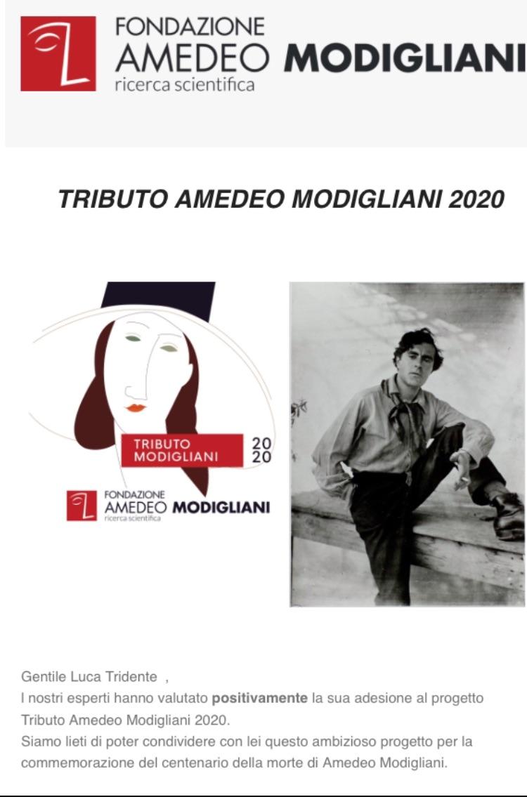 Tributo Amedeo Modigliani 2020