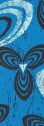 SHWE SHWE - BLUE/WHITE HELIX
