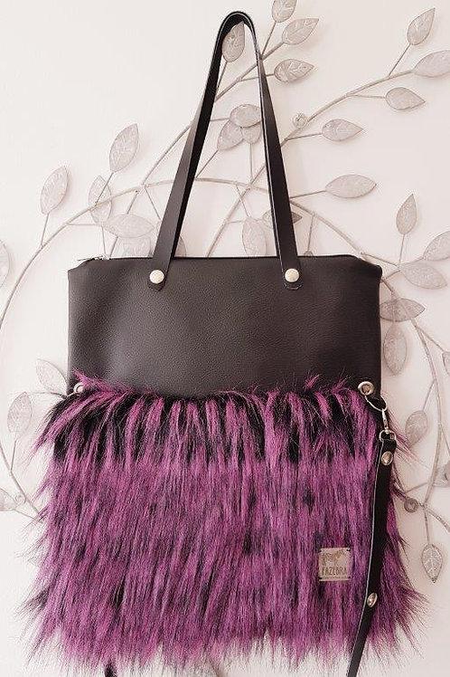 SMILLA - Pink Vain Ostrich - Maxi Bag