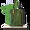 Thumbnail: TOTE bag - Peau de Cactus Vert - Cuir vegan