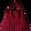 Thumbnail: Fringe Shoulder Bag - ESPRIT SQUAW - Burgundy red