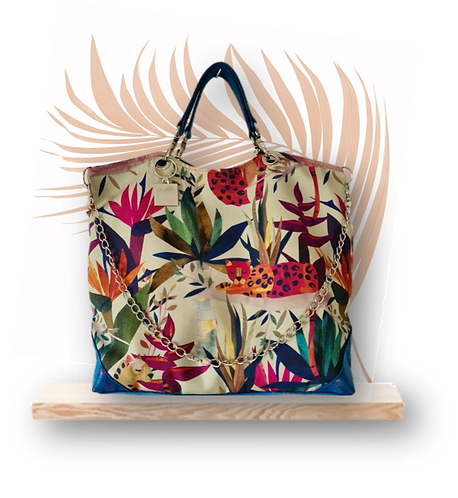 TROPICAL Collection - Tote JUNGLE