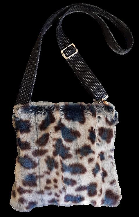 SMILLA Pillow - Crossbody bag - Blue leopard
