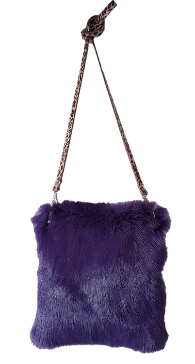 LILY PILLOW BAG MIDI - Violet - Lapin