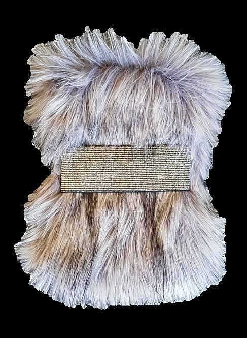 SMILLA POKY - sac poignet - Loup gris