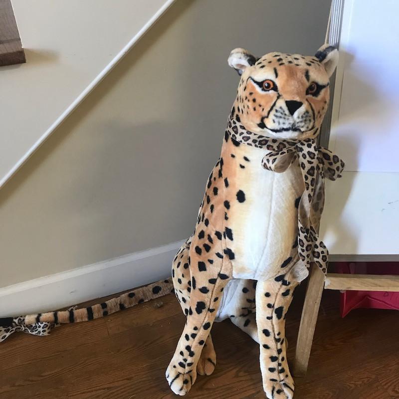 Large Cuddly Cheetah