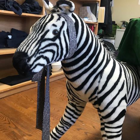 Large Cuddly Zebra