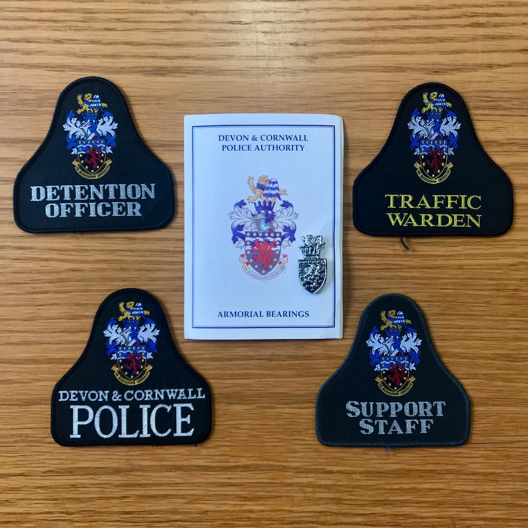 Devon & Cornwall Police Badges