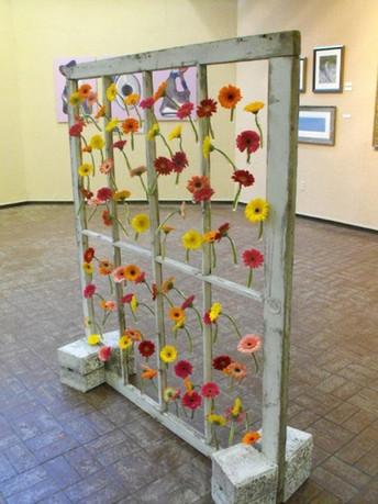 88 Gerbera Daisy Installation 2009
