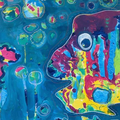 Grade 2-4 Collaborative Art Piece