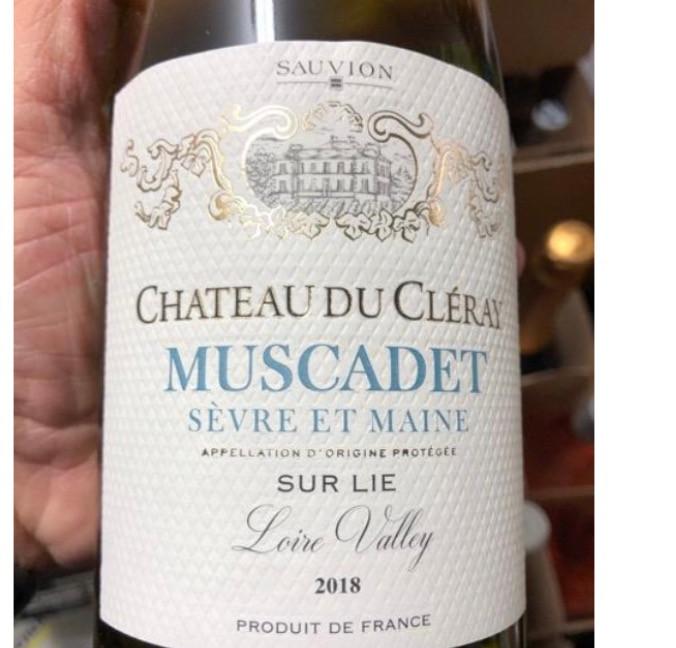 Chateau du Cleray : Muscadet 2018