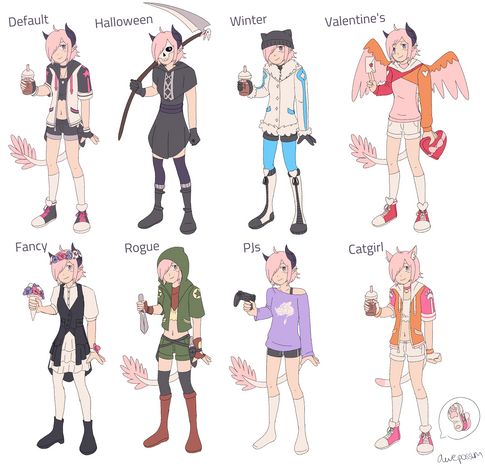 Alternate Outfits
