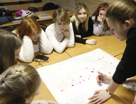 Дизайн-игра со студентами