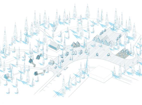 Общая схема главной площади