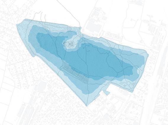 Схема активности использования паркового пространства