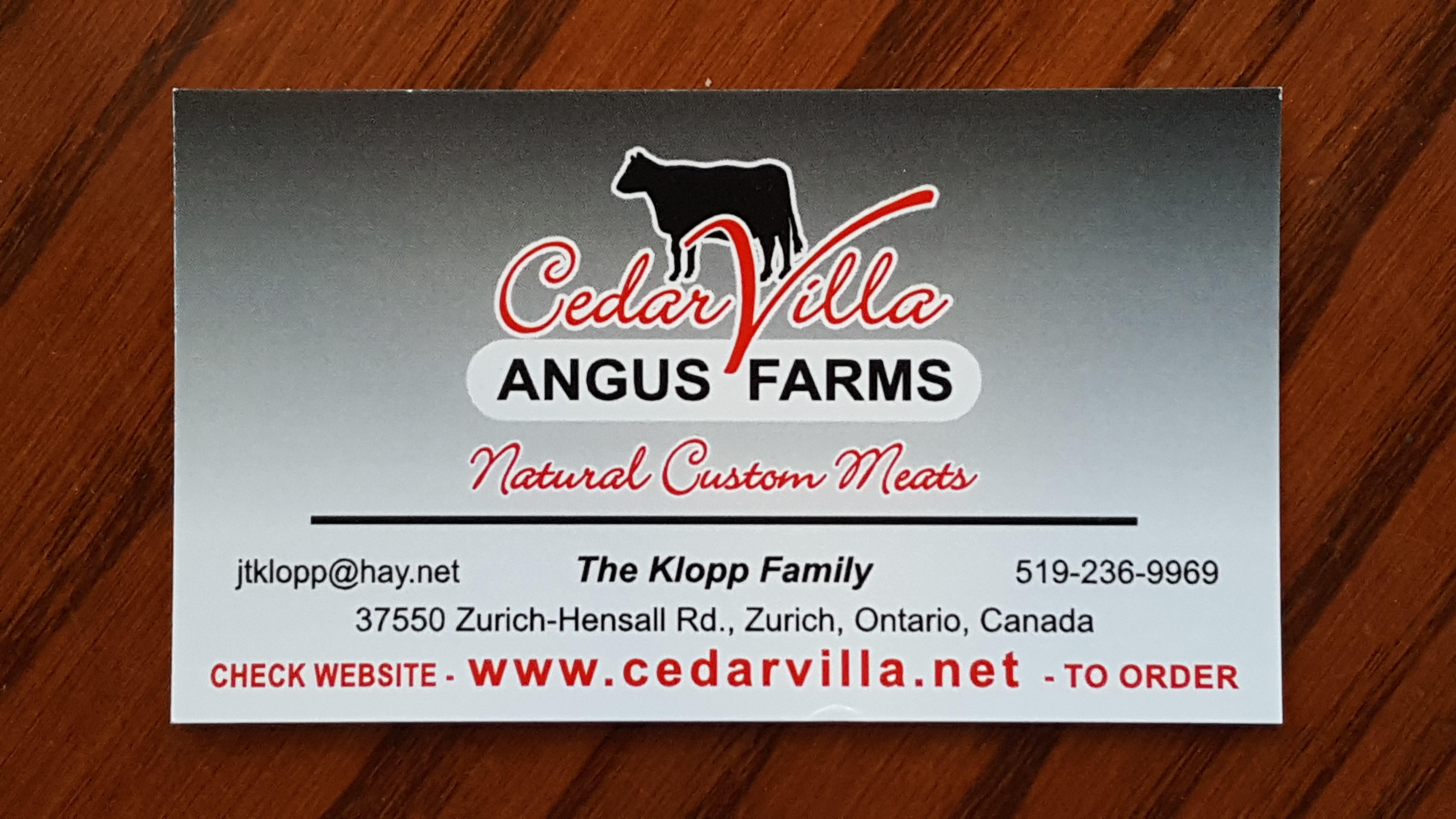Cedar Villa Angus Farms
