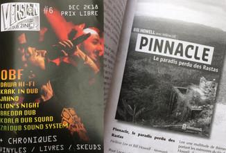 Belle critique de Pinnacle dans le fanzine Version.