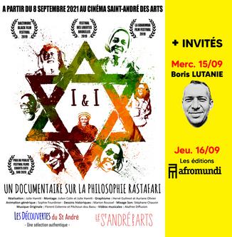 Afromundi et Boris Lutanie invités de Julie Hamiti et I&I au cinéma Le Saint André des Arts à Paris.