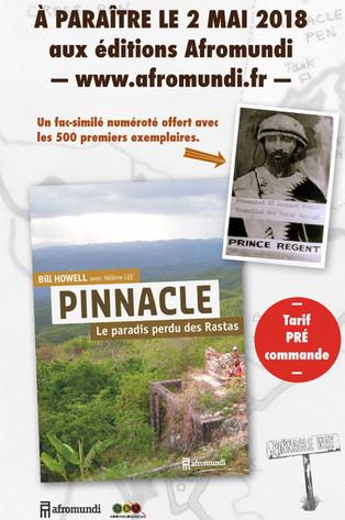 Un fac-similé offert aux500 premiers exemplaires dePINNACLE Le paradis perdu des Rastas.
