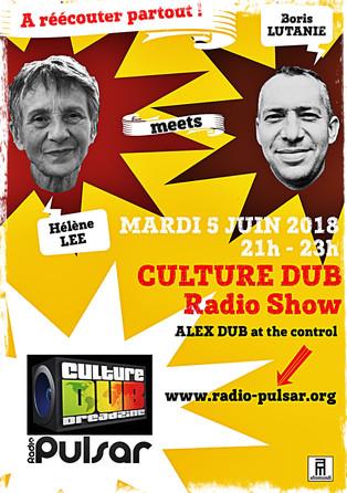 Hélène Lee meets Boris Lutanie at Culture Dub à (ré)écouter partout.