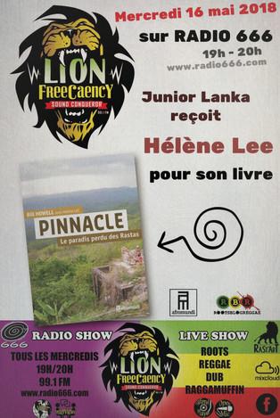 (Ré)écouter l'interview de Hélène Lee sur Radio 666 le mercredi 16 mai 2018.