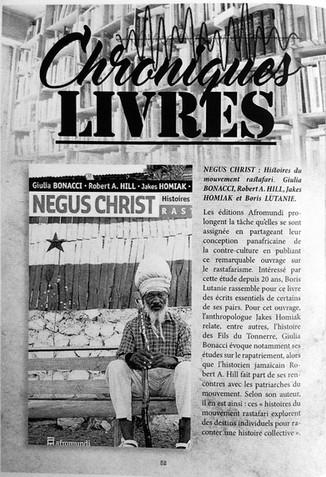 Le fanzine Version critique NEGUS CHRIST.