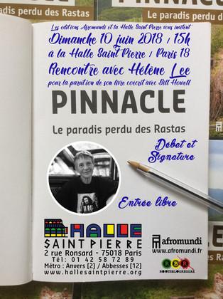 Rencontre signature avec Hélène Lee à la Halle Saint Pierre (75) dimanche 10 juin 2018.