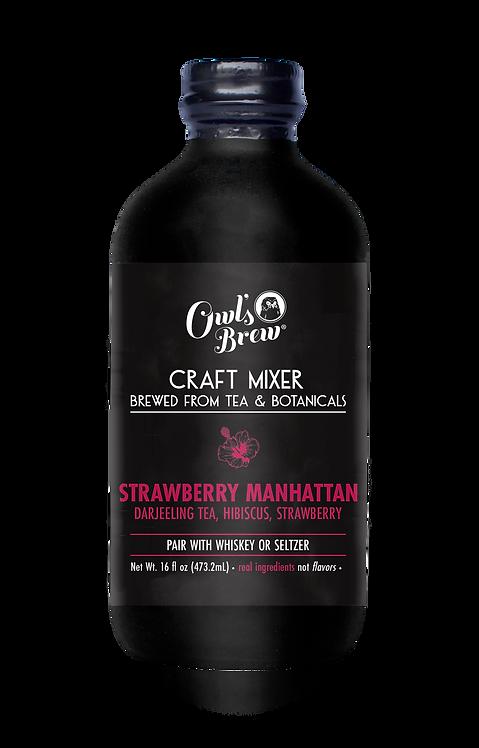 Strawberry Manhattan 16 oz