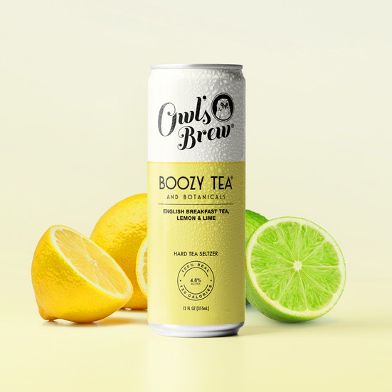 English Breakfast Tea, Lemon & Lime