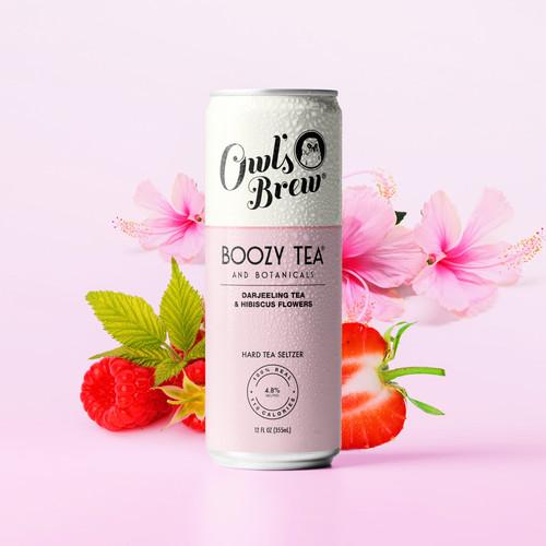 Boozy Tea Pink