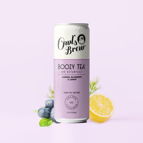 Boozy Tea Purple