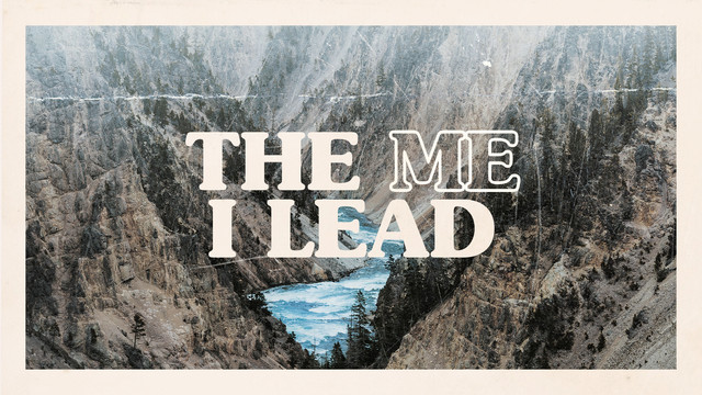 the me i lead title slide