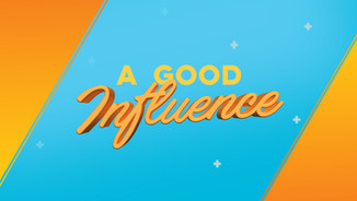 a good influence title slide