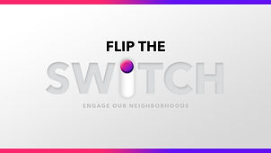FLIP the SWITCH series art with borders.