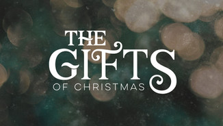the gifts of christmas title slide