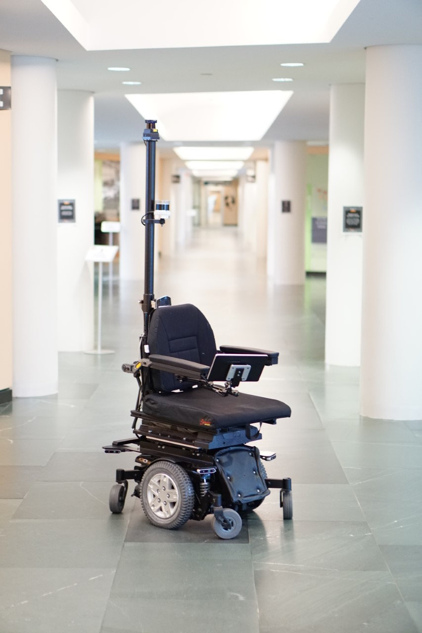 Autonomous and Self-Driving Wheelchair