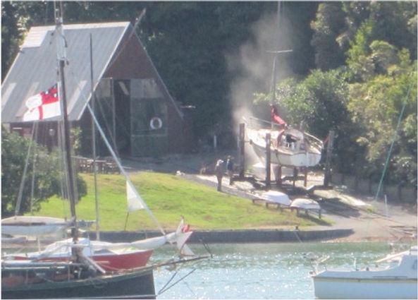 Opua boatyard breach of consent