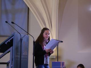Brief von Anne Köhler aus Brandenburg an Ole Hau vom Bildungsbündnis Trier- Ehrang