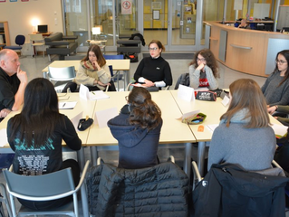 Schülerfeedback zum Workshop mit Guy Helminger am 26.2.2018 im Lycée Aline Mayrisch