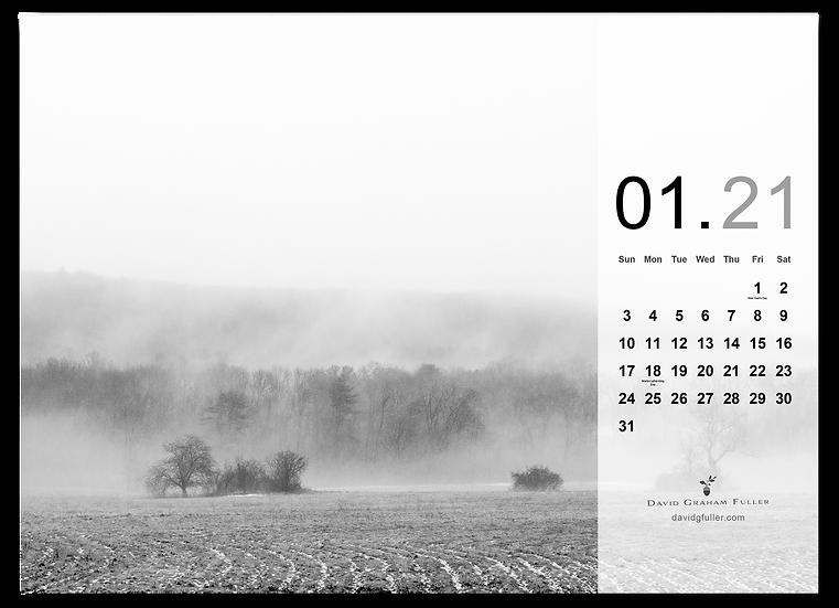 2021 Calendar Refills