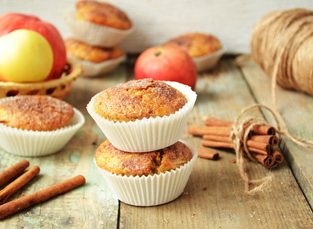 Butternut Squash and Applesauce Muffins