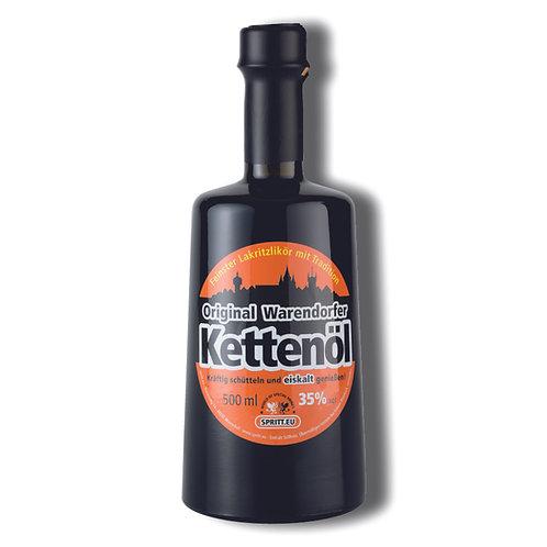 Original Warendorfer Kettenöl · Feiner Lakritzlikör mit Tradition