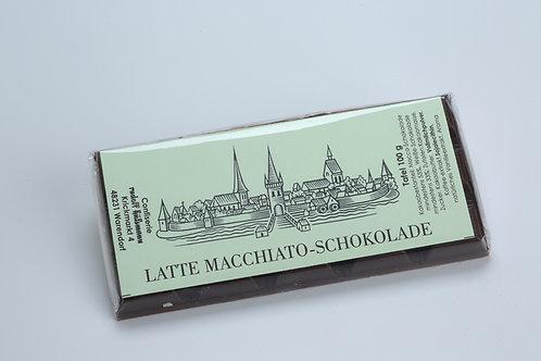 Latte Macchiato Vollmilch Schokolade, 100 g Tafel