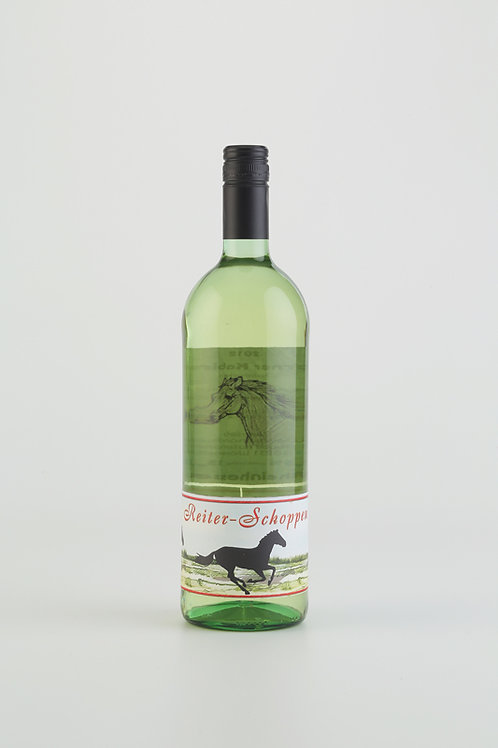 Reiter-Schoppen, Weißwein 1,0 Liter
