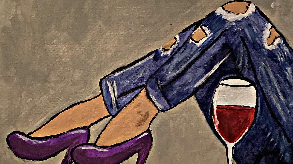 Denim and Wine