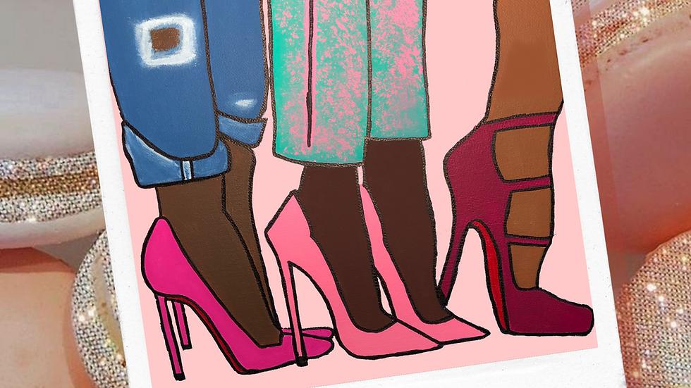 Pink Stepping