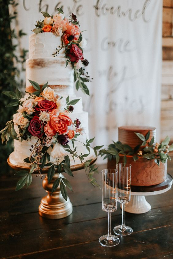 Buttercream + Flower Arrangements