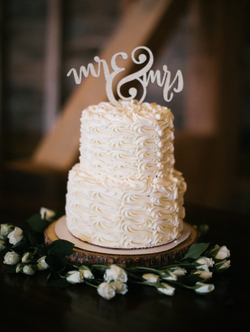Piped Buttercream