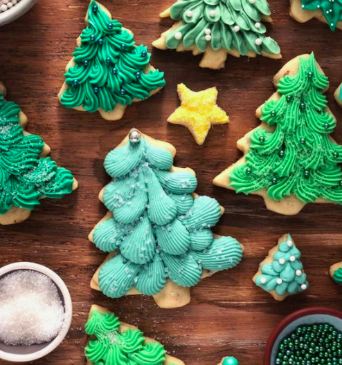Christmas Tree Buttercream Icing Cookie Decorating Workshop 6 Pm