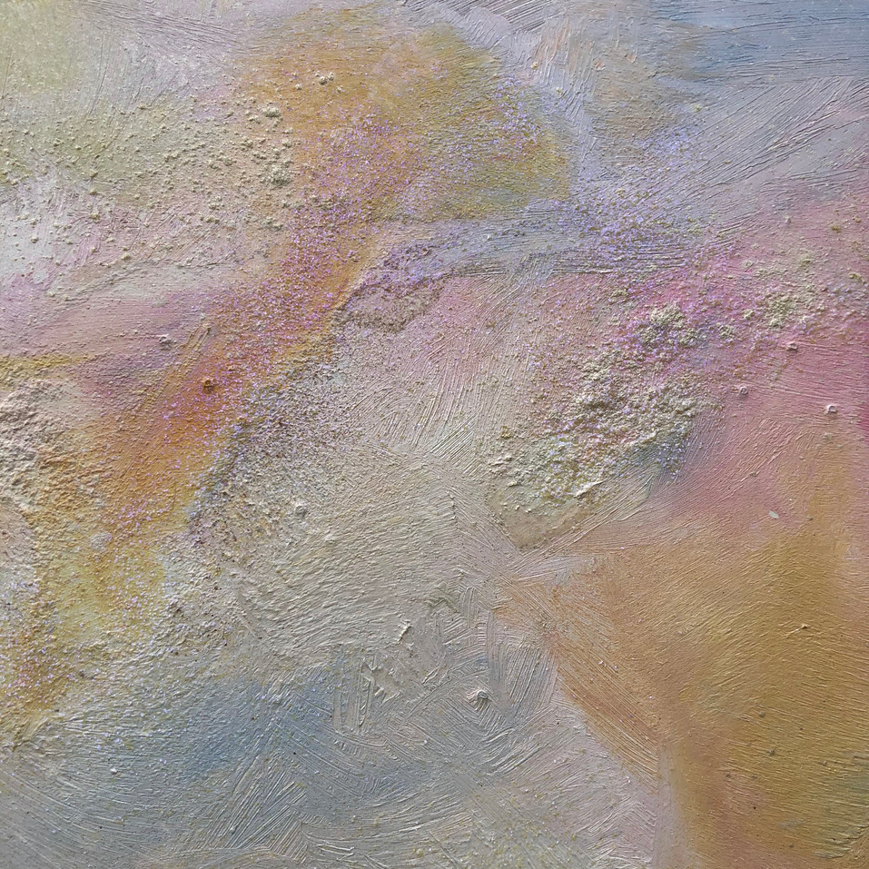 Section of the painting Crystal Waters
